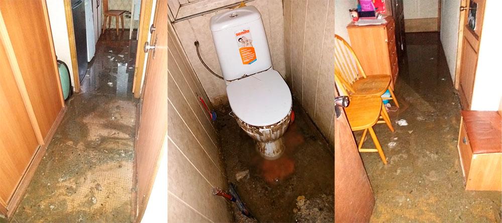 Судебная практика по заливу квартиры канализацией